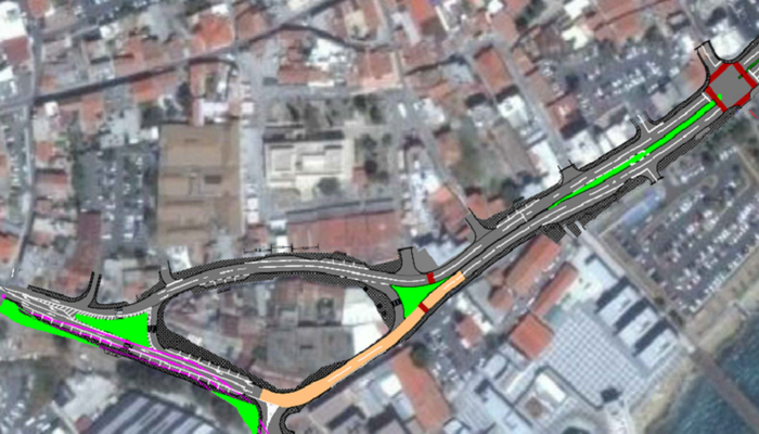 This is how the new Old Port road will operate