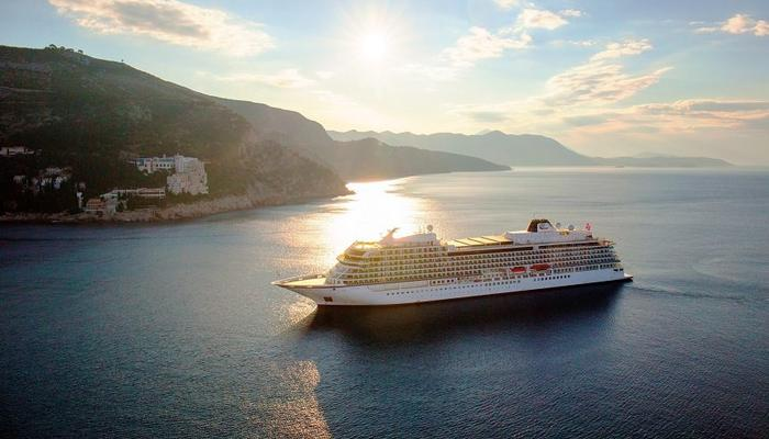 The newest cruise ship in the world arrived at the Limassol port for the first time!