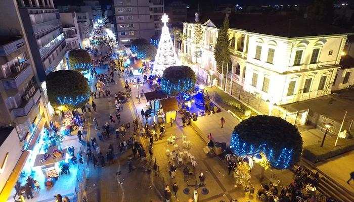 Limassol will be lighting its Christmas tree in a festive atmosphere!