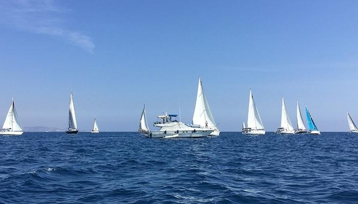 Kataklysmos in Limassol is renewed: Boats and sails all over the sea!