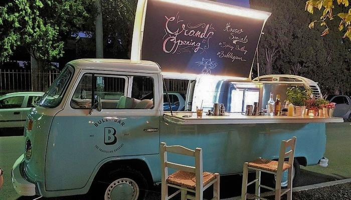 NEW: A retro Volkswagen van in Limassol is now the first mobile bar in Cyprus!
