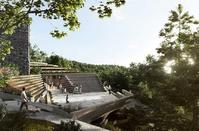 PHOTOS: The riveting design for a concert hall in the heart of Troodos mountains!