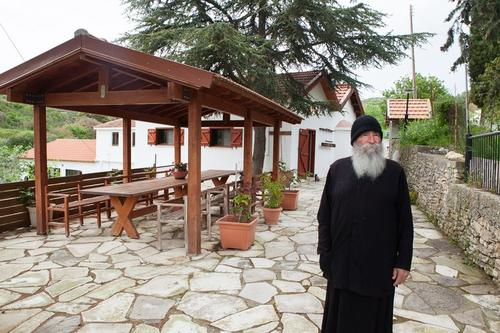 The story of the small monastery built by Dimitris from Vouni with his own hands