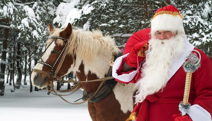 Santa Claus and elves hit the road to the true Christmas village in Limassol!