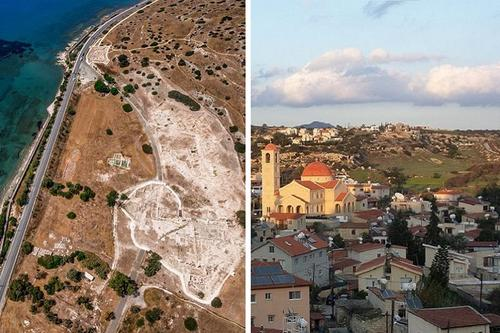 How Ancient Amathus evolved into the village of Agios Tychonas!