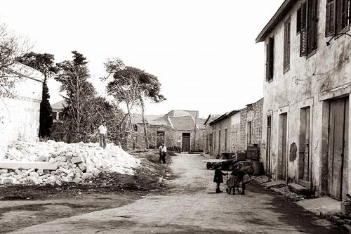 The change of Carob Mill in the center of Limassol, from then until now!
