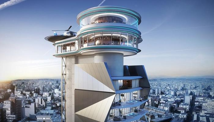 PHOTOS: Limassol gets a revolving restaurant, with panoramic city views!