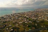 Unique view: Limassol from a helicopter is something else!