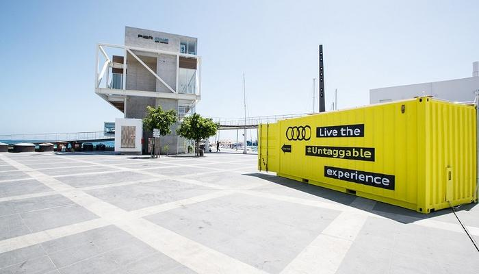 PHOTOS: This is what the mysterious, yellow container at the Old Port was all about!