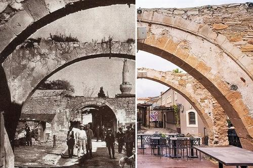 The road with the arches, a landmark of Limassol through the centuries!