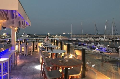 Marina Roof Bar: The stunning sunsets of Limassol from a cool city terrace!