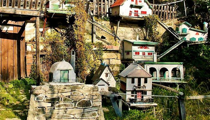 A magic village... for dwarfs at the Limassol mountains!