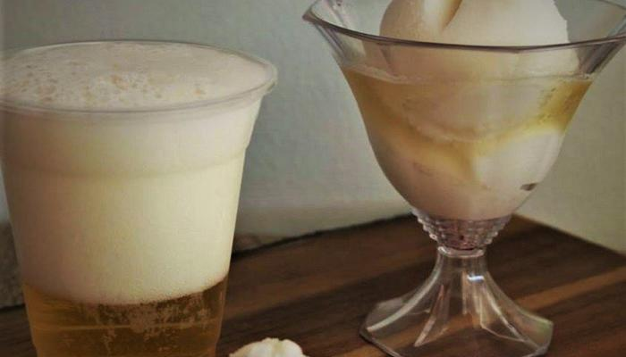 Ice cream beer: Limassol's coldest beer comes as… ice cream!