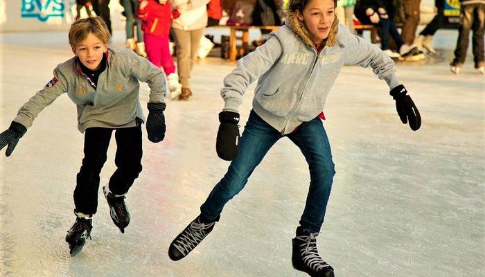 Ice skating offer 1+1 for all at the Limassol Old Port!
