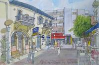 This is how Spyros Demetriades sees the old Limassol streets