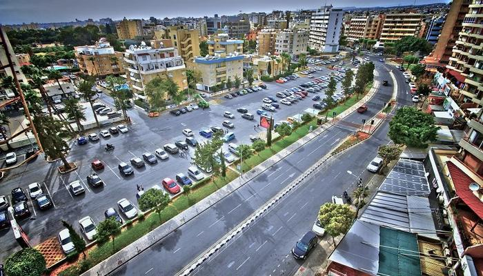 Elevated square, underground parking and a hotel at Enaerios area in Limassol?