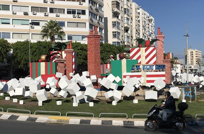The designer of Agios Nicolaos roundabout decoration, elaborates on what you' ve seen...