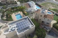 PHOTOS: Solar panels are latest trend for Limassol's new 'green' residences!
