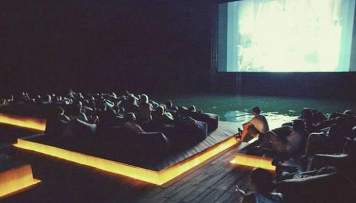 Floating cinema experience offered by the 6th International Short Film Festival