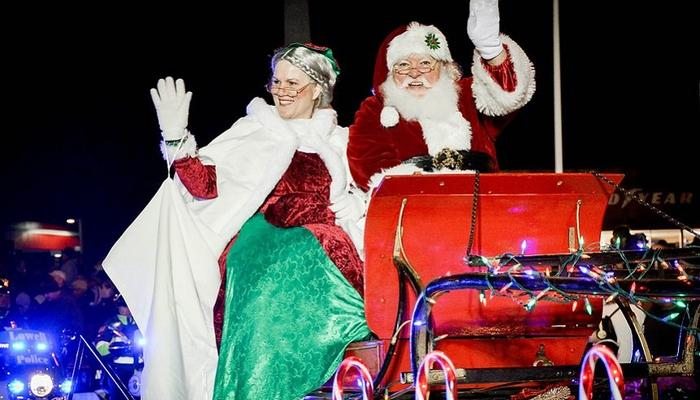 Santa Claus will be giving away presents in all of Limassol's neighborhoods!