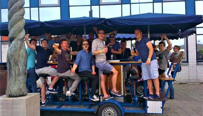 Free rides on Limassol's beer bike for an entire week!