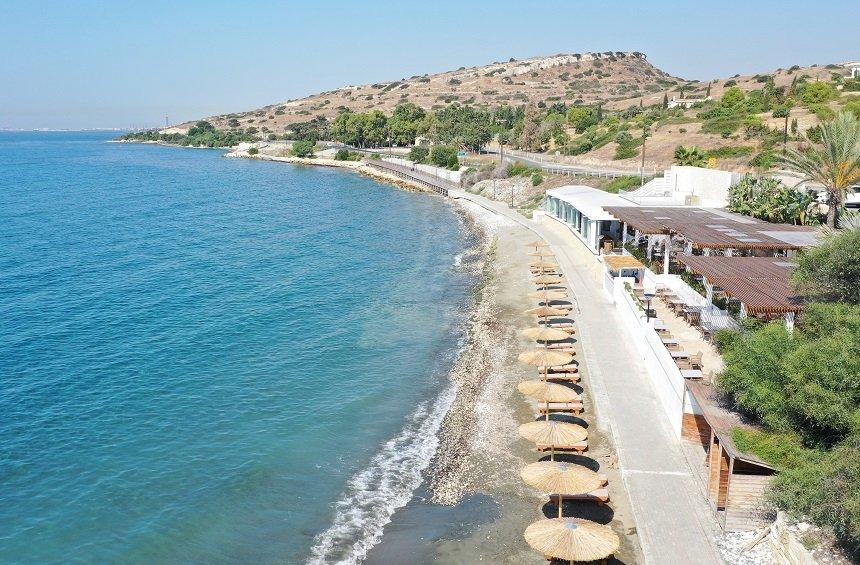 Agios Tychonas Beach (Saint Barbara – Ama Beach)