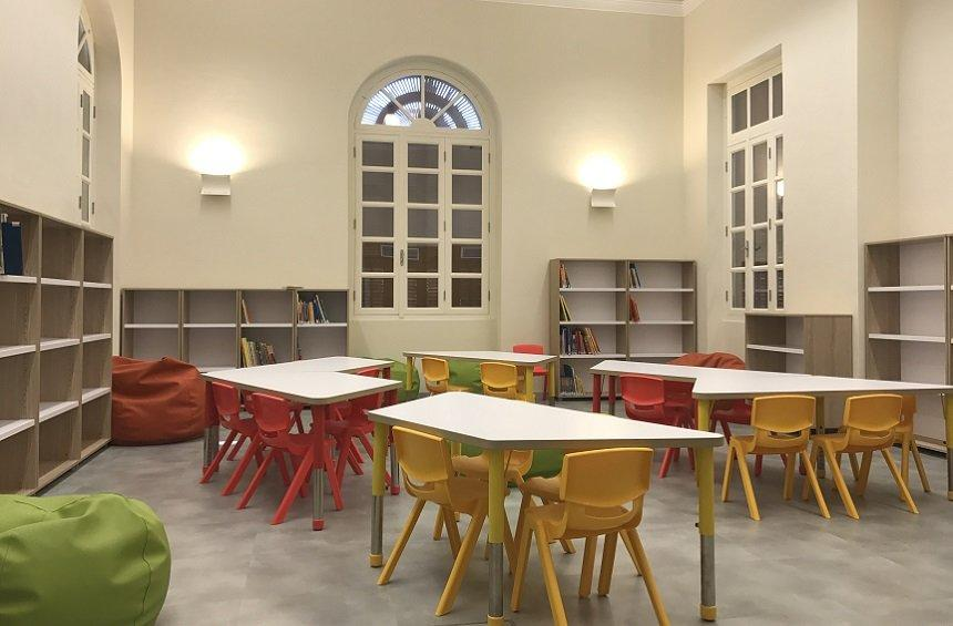 The new Library, a jewel of Limassol, has opened its doors to the public!