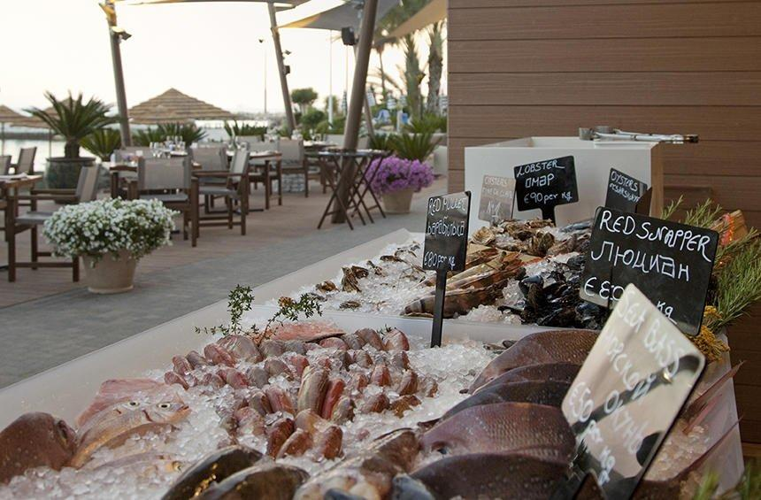 Limanaki Fish Restaurant: Fresh fish in a magical spot in Limassol!