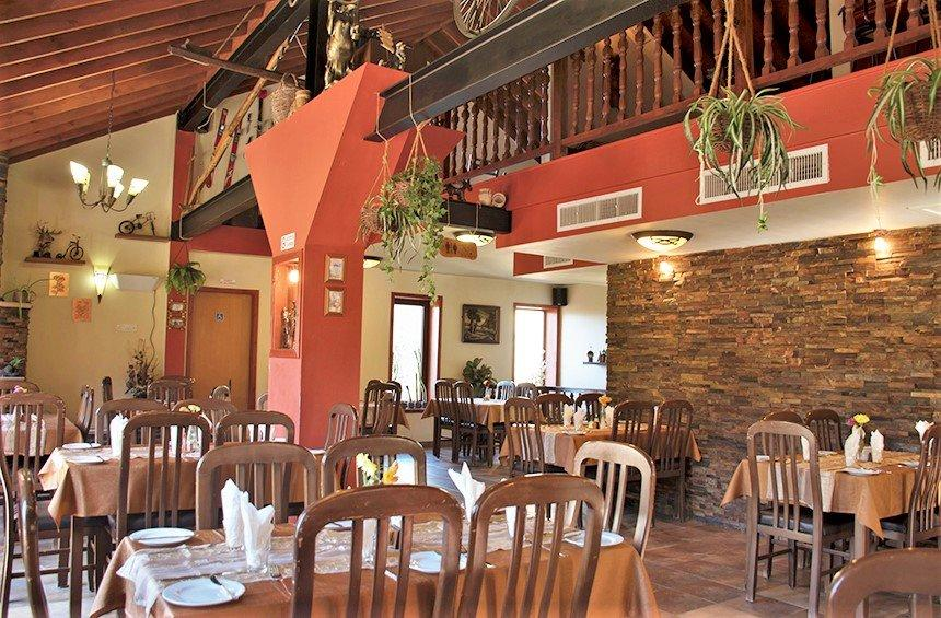 The restaurant of the Adventure Mountain Park is a great spot for dining and fun activities!