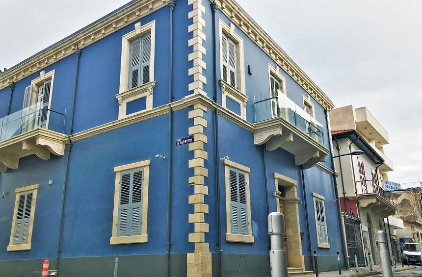 The listed mansion in Limassol, which received an international architecture award!