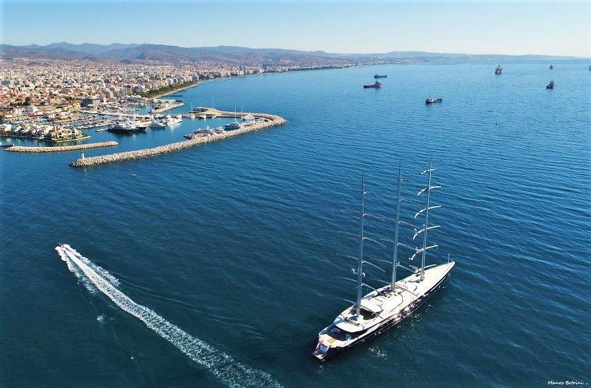 Limassol ranked among the top 5 destinations for boats and yachts worldwide!