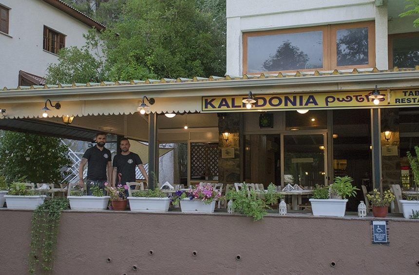 Caledonia Rotis: A tavern that lures you to Platres for its sweets!