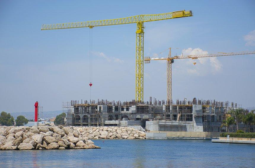 Castle Residences: A one-of-its-kind island is under construction on Limassol's sea!