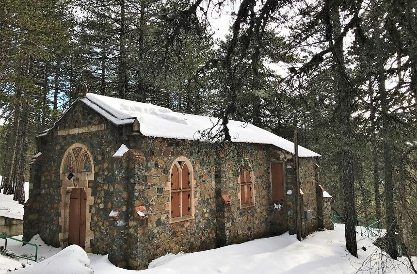 Catholic Monastery in Troodos