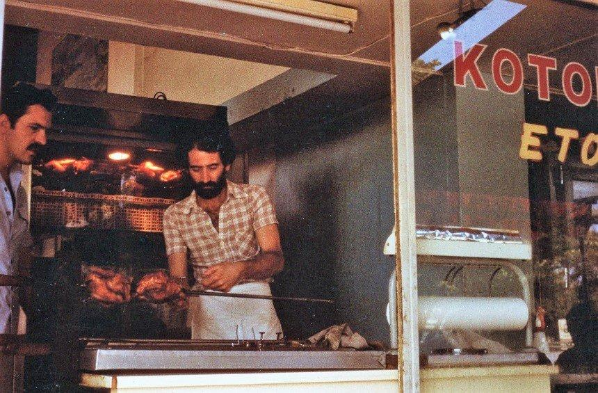 The story of Diomedes from Agros, who left his mark in Makarios Avenue with his roast chicken!