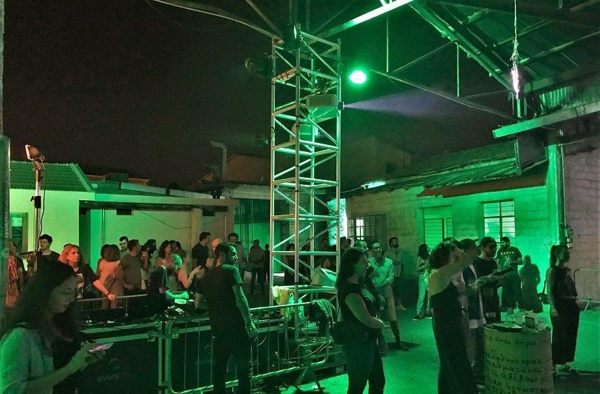PHOTOS: The party that transformed a garage in Limassol's historical city center!