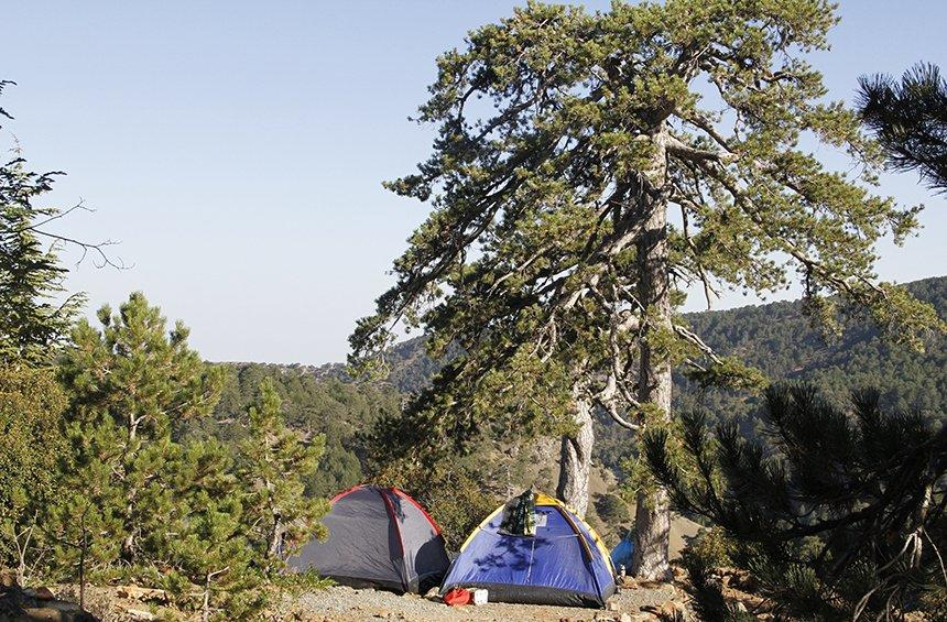 Troodos camping site