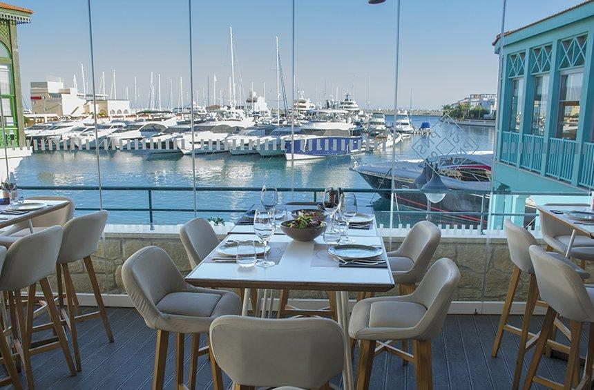 Epsilon Resto Bar: Limassol's blue balcony that has made an impression!