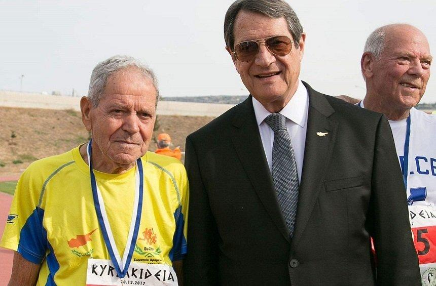 A. Pambakas: The 82-year-old marathon runner from Limassol, reveals his secret!