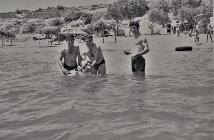 Governor's Beach, 1950s.
