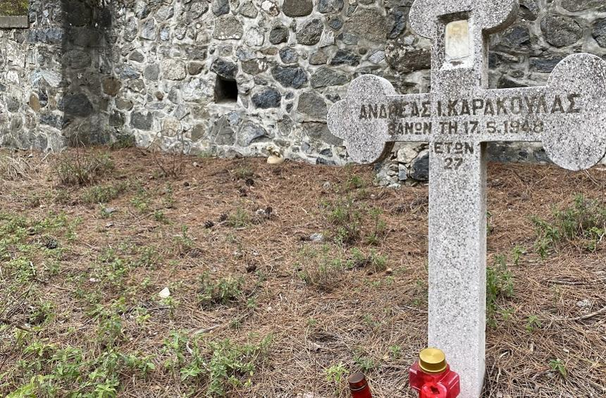 The tragic story of the forgotten cemetery of 'stigmatized' people in Troodos