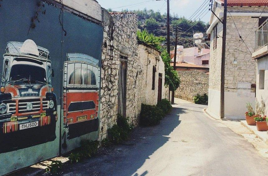 A Limassol village, turned into a real-life photo album!