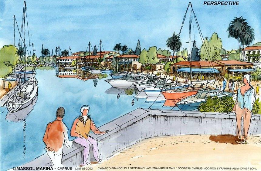 Limassol Marina: The transformation of an abandoned area of the city thanks to a major project!