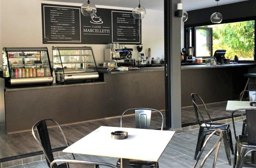 Caffe Marceletti: A modern hangout where you can enjoy coffee with views of Kouris Valley!