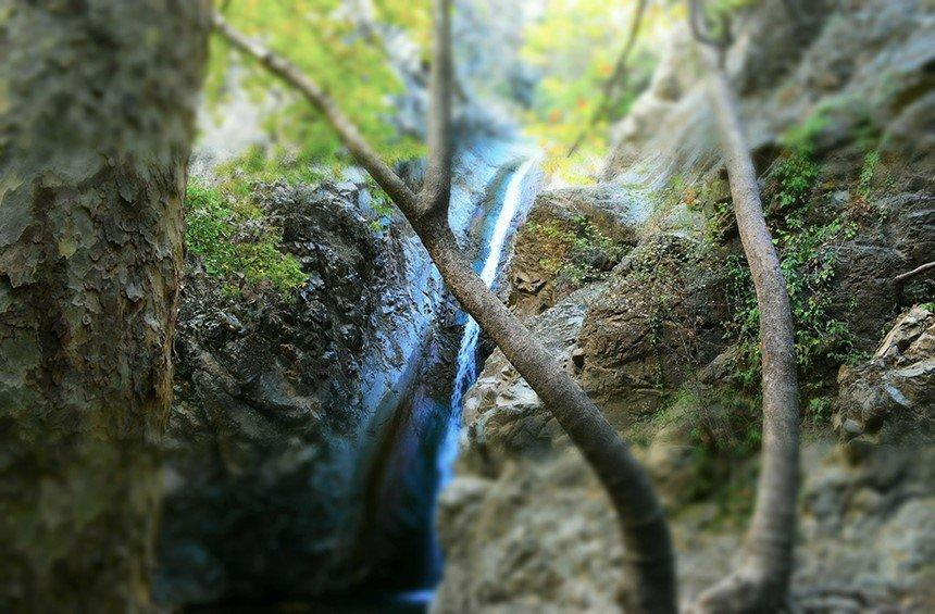 Millomeris Waterfalls (Platres)