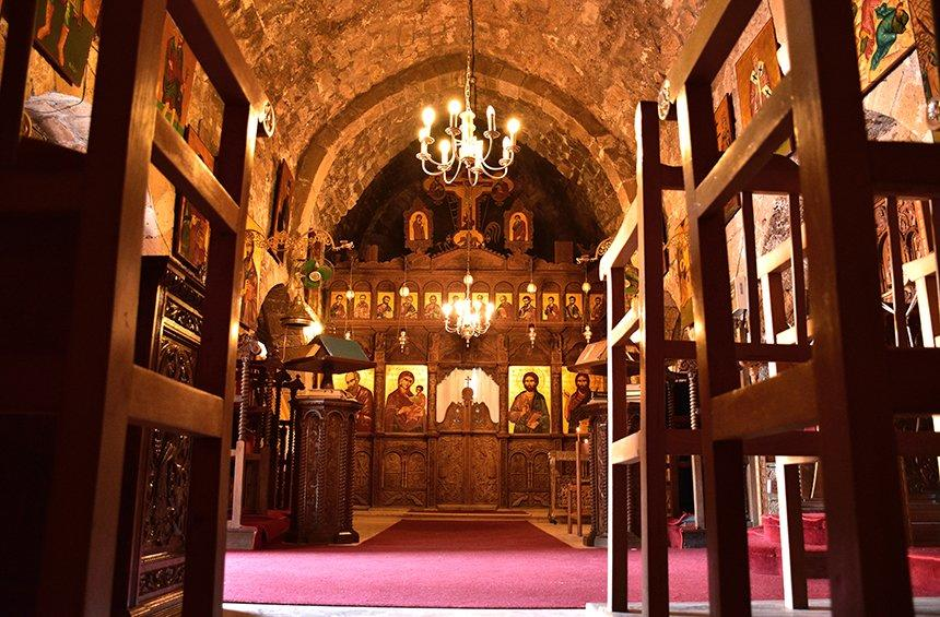 The Holy Monastery of Saint Nicholas of the Cats (Akrotiri)