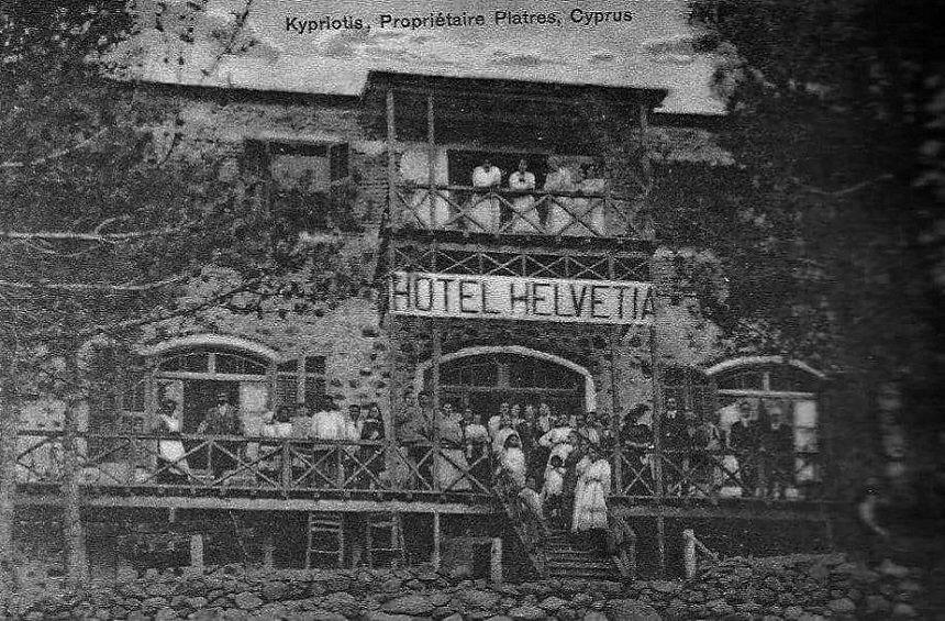 The oldest hotel in Cyprus still survives unchanged in Limassol!