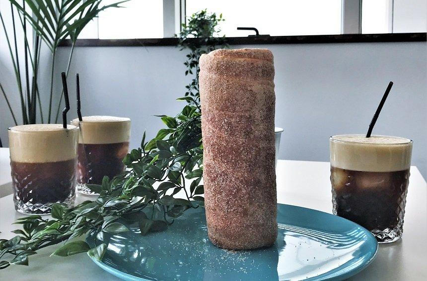 Chimney cakes: The tasty, tube-shaped cakes, baked on a rotisserie in Limassol!