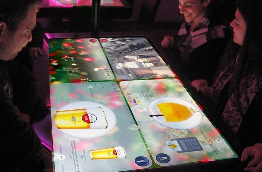 Oshi Asian: A restaurant in Limassol featuring high-tech tables from the future!