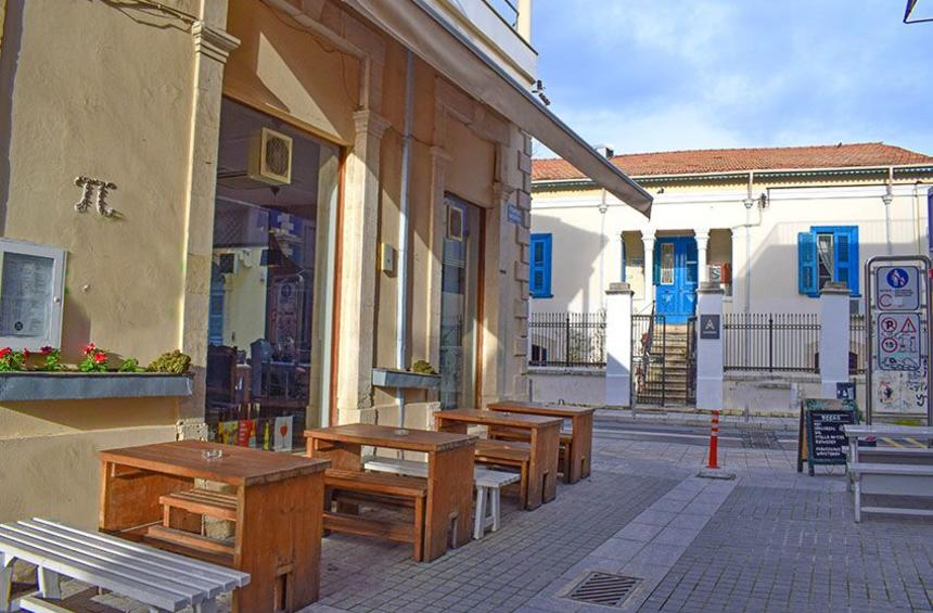 Π Café: A warm, retro space in the historical center of Limassol!